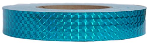 Prismatic Tape - Aquamarine (1-inch x 150 ft) by Hoopologie