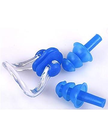 Ericotry 5/paires /étanche souple en silicone Bouchons doreille Natation flexibles r/éutilisables Bouchons doreilles pour la natation ou de couchage 10