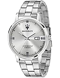 Men's 'Eleganza Quartz Stainless Steel Fashion Watch, Color:Silver-Toned (Model: R8853130001)