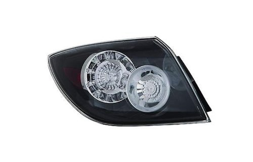 Max Zone 316-1922L-AS 316-1922R-AS Mazda 3 Hatchback Pair Replacement Tail Light