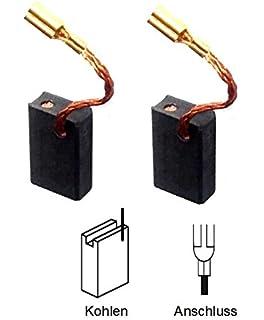 Kohlebürsten Kohle für Metabo Winkelschleifer WE 14-150 Quick WEP 14-150 Quick