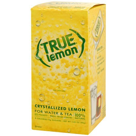 True Lemon Crystallized ~ 100 Pack Box 2.82 oz
