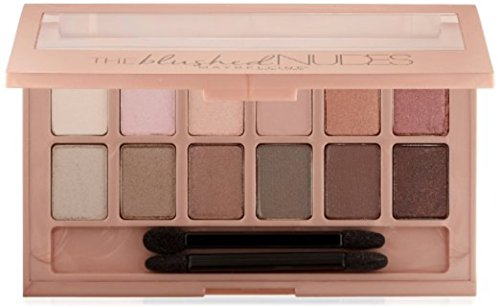 Myb Eyeshadow Palette Nud Size .34z Maybelline The Palettes The Blushed Nudes .34oz