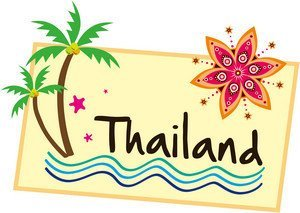 Amazon.com : In travel stickers Thailand THAILAND travel seal ...