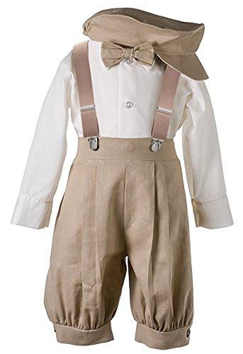 Boys Knickers Suit Set Tan 18M (Tan Dress Suit)