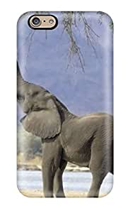 AnnDavidson Iphone 6 Hybrid Tpu Case Cover Silicon Bumper Elephant For Walls