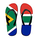 Flag Of South Africa Comfortable Flip Flops For Children Adults Men And Women Beach Sandals Pool Party Slippers