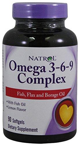 Natrol Omega 3 6 9 Complex SFGL
