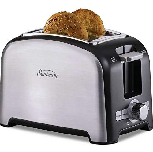 Sunbeam 2-Slice Toaster 7 Setting Brushed Stainless Steel