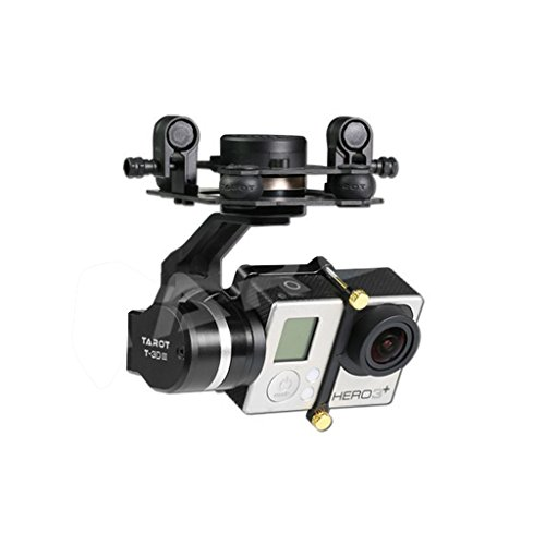 Price comparison product image Tarot TL3T01 Update from T4-3D Metal 3-axis PTZ Photography Brushless Gimbal for GOPRO4 / GOpro3+ / Gopro3