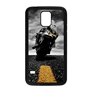 Valentino Rossi Samsung Galaxy S5 Cell Phone Case Black yyfabd-315886