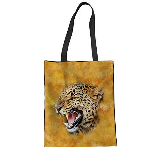 Showudesigns CC3516Z22, Borsa a mano donna Marrone Brown Taglia unica Leopard