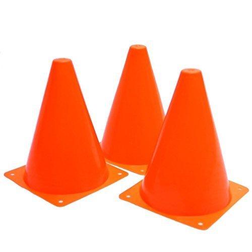Oalas Set of 12 Sport Training Traffic Cones Soccer Cone