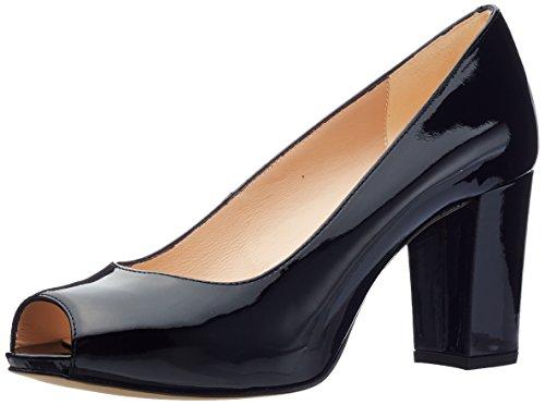 Abierta de para Black Zapatos Mujer Pa Nazo Tacón Punta Unisa Negro 18 con Swg8z6