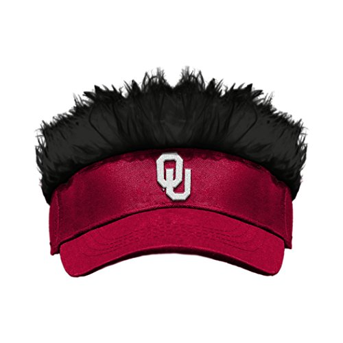 The Northwest Company Officially Licensed NCAA Oklahoma Sooners Flair Hair Visor