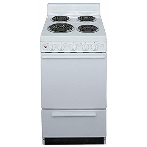 Ft. Electric Range Finish: White