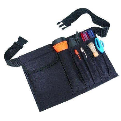 Vinyl Waist Belt - SmartTravel4Less, 1054, Professional Waist Tool Equipment Utility Belt, Black