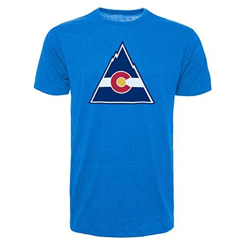 '47 Colorado Rockies Vintage NHL Bi-Blend Logo T-Shirt - X-Large