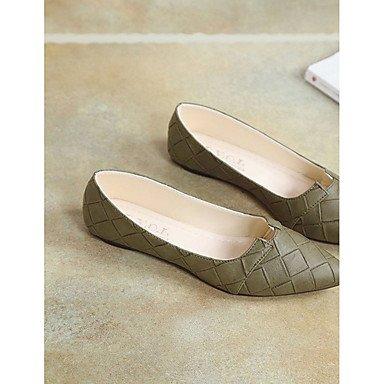 US5.5   EU36   UK3.5   CN35 noir Wuyulunbi@ Chaussures femmes de confort d'été Pu ApparteHommests chaussures gris noir vert robe de
