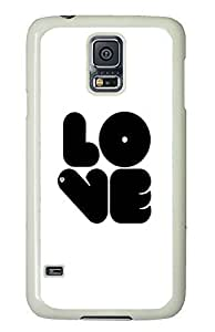 Samsung Galaxy S5 shop cover Cool Love Quotes Cute PC White Custom Samsung Galaxy S5 Case Cover by icecream design