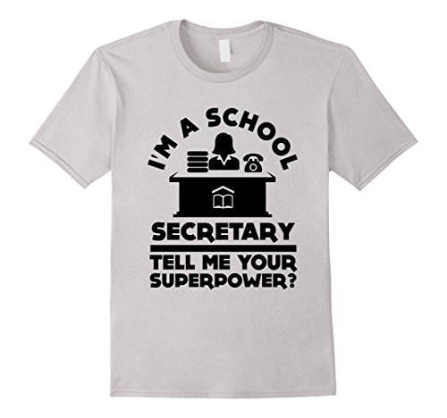 Funny Im A School Secretary T-shirt School Student Teacher