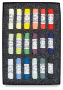 Jack Richeson Unison Pastel Starter Colors, Set of 18 by Jack Richeson