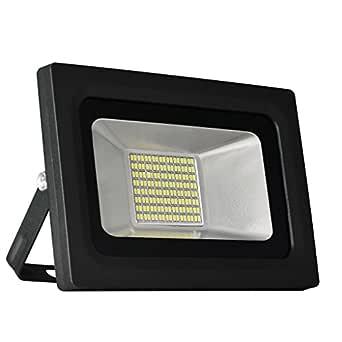 Solla® Foco proyector LED 30W para exteriores, blanco diurno 6000K, 2400lm, resistente al agua IP65, luz amplia, luz de seguridad