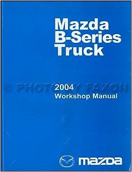 mazda b3000 manual