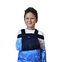 Shoulder Immobilizer & Arm Sling by Soles — Breathable, Lightweight & Adjustable Neoprene — Soft, Comfortable Support — Improves Recovery Times — Velpeau Bandage — One Size Fits Most