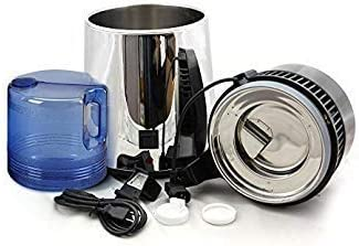 WJSW Destilador de Agua Pura para encimera, Filtro de Acero ...