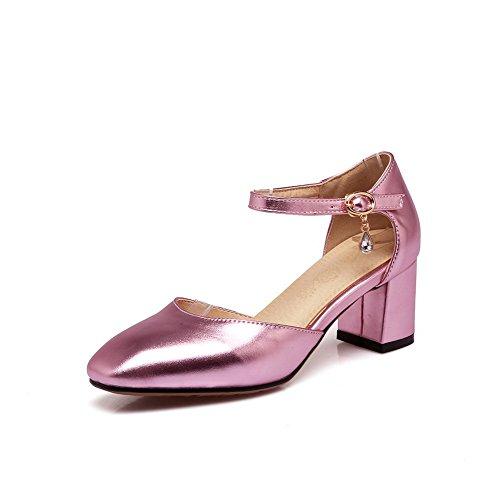 AdeeSu Womens Non-Marking Structured Fashion Urethane Sandals SLC03864 Pink ttxLpnqr