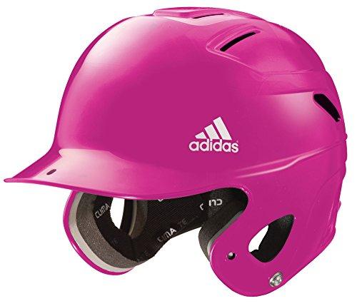 adidas Girl's Triple Stripe T-Ball Batting Helmet (Pink, Beginner)