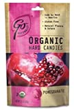 Go Naturally Organic Pomegranate Hard Candies, 3.5 Ounce (Pack of 6)