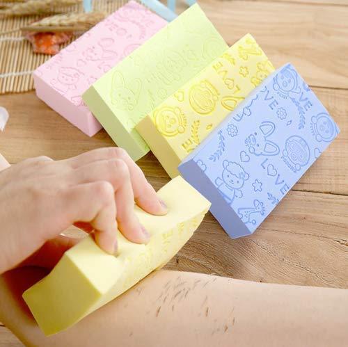 Ultra Soft Exfoliating Sponge Shower Brush (3PCS)