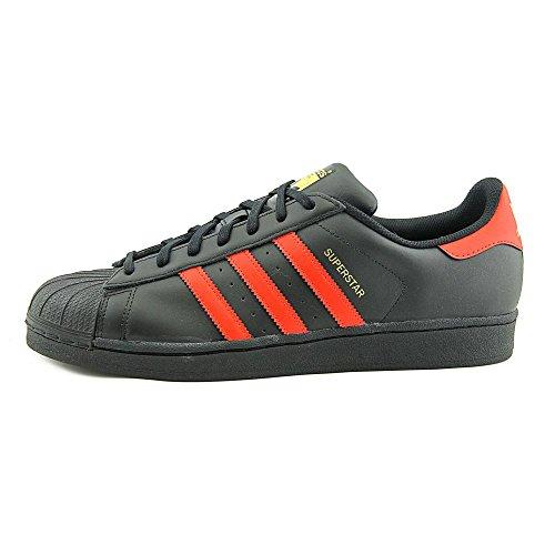adidas Originals Herren Superstar Fashion Sneaker Cblack, Scarle, Goldmt-s80694