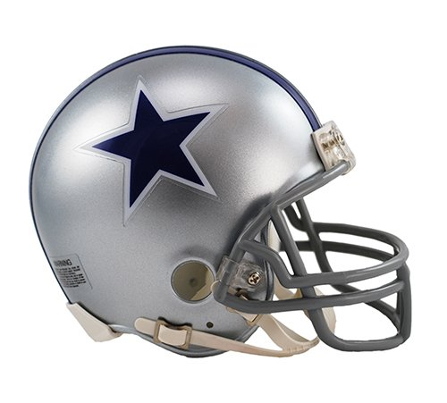 Dallas Cowboys 1964-66 Throwback NFL Riddell Replica Mini (Nfl Throwback Football Helmet)