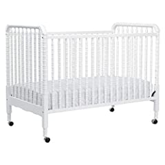 DaVinci's beloved Jenny Lind 3-in-1 Convertible Crib brings classic, vintage-inspired charm to the nursery. Signature heirloom style and solid wood spindle posts are paired with easy assembly and convertibility for use beyond the nursery year...
