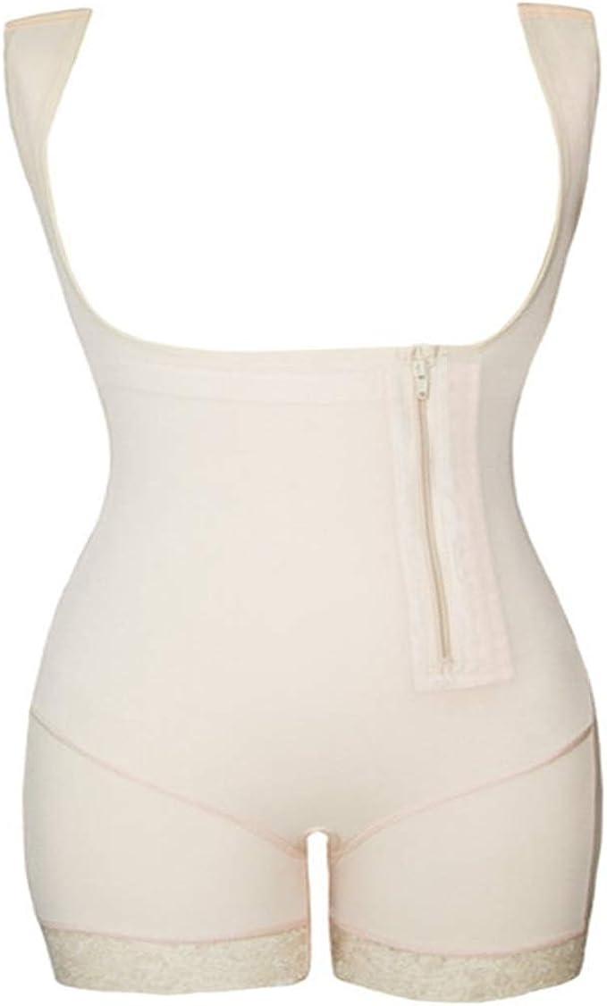 Details about  /Womens Postpartum Slimming Bodysuit Zipper Firm Control Shapewear Levanta Cola