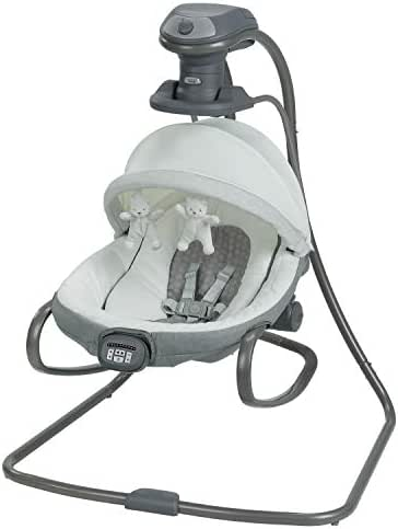 Graco Duet Oasis with Soothe Surround Baby Swing, Davis