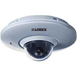 Lorex by FLIR LNZ3522B 1080p HD Micro PTZ Dome Indoor/Outdoor Security Camera for LNR100/LNR400 NVRs, 2.1MP, 3x Digital Zoom, 3.6mm F1.2 Lens, Weatherproof,PoE
