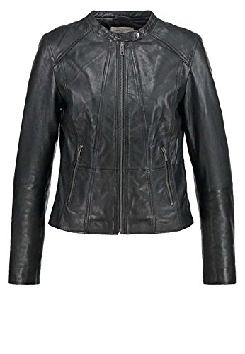 Junction Giacca Leather Junction Leather Nero Giacca Donna Donna Leather Nero FIfwOId