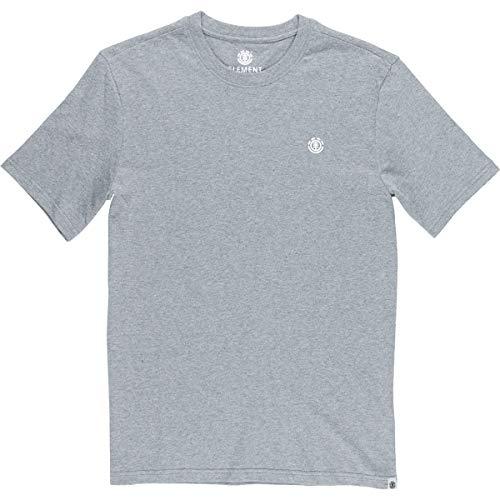 Element Men's Basic Emby Shirts,X-Large,Grey Heather