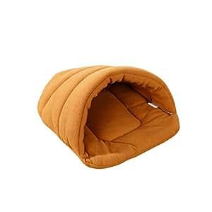 UEETEK Cachorro de perro lindo cama de forma Cachorro de gato Cueva Nido casa de mascotas suave túnel de cojín cálido para mascotas Tamaño S: Amazon.es: ...