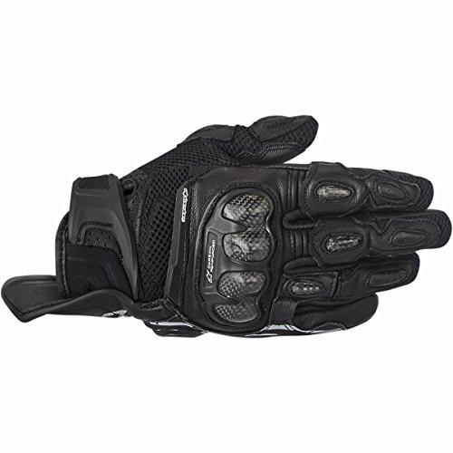 Price comparison product image Alpinestars SP-X Air Carbon Men's Street Motorcycle Gloves - Black / Medium