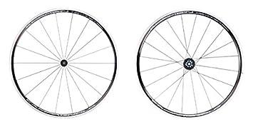 Campagnolo Khamsin Asymmetric - Ruedas traseras Bicicleta de Carretera - CX Shimano Body Negro 2016 Juego