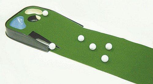 Golf Hazard Putting Mat With Ball Return System Amazon Co Uk