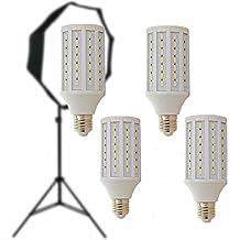 CanadianStudio Pro 4 x 20 watt LED 5500K 92 CRI Continuous Pure White Light Output (Lm) 2000 Light Bulb