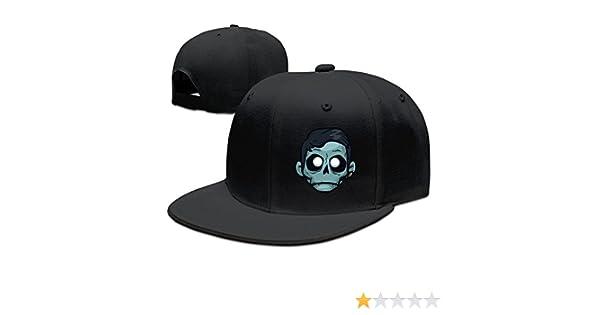 Baseball Cap Zomboy Unisex 100% Cotton Black Adjustable Snapback One Size   6693254093511  Amazon.com  Books 590a9d42dab