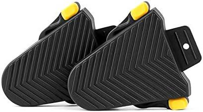 Powstro Una Coppia di Tacchetti in Gomma a sgancio rapido Copriscarpe per Pedali per Bici Adatto per tacchette Shimano SPD-SL Accessori per Biciclette