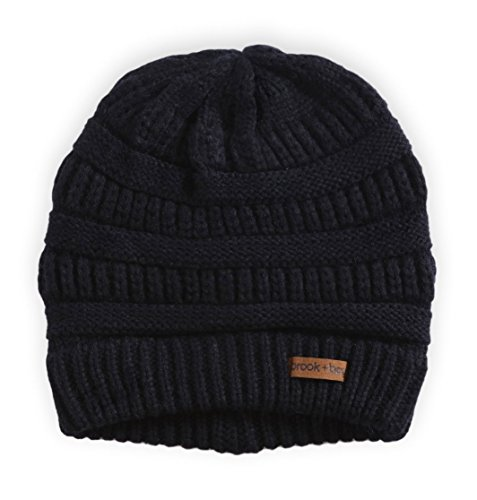 Review Brook + Bay Women's Cable Knit Beanie – Thick, Soft & Warm Chunky Beanie Hats for Winter – Serious Beanies for Serious Style (with 8+ Colors)